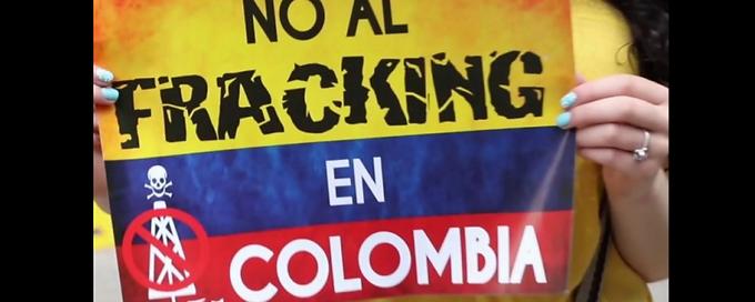 Desde otros países piden que se prohíba el fracking en Colombia