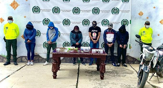 Ofensiva contra el microtráfico en Boyacá deja 10 personas judicializadas