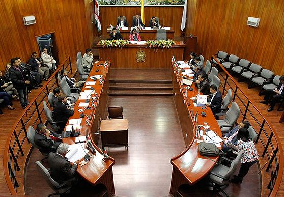 La carta que envió la Asamblea de Boyacá al Ministerio de Minas