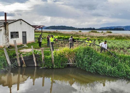 Más de 30 operativos realizó Corpoboyacá en el Lago de Tota