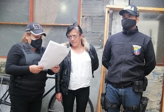 Judicializada mujer, presuntamente, implicada en una extorsión bajo la modalidad 'Tío Tía'