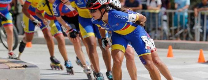 Una patinadora colombiana es una de las destacadas en los juegos mundiales