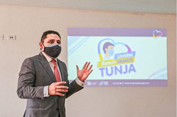 Tunja se prepara para la vacunación anticovid
