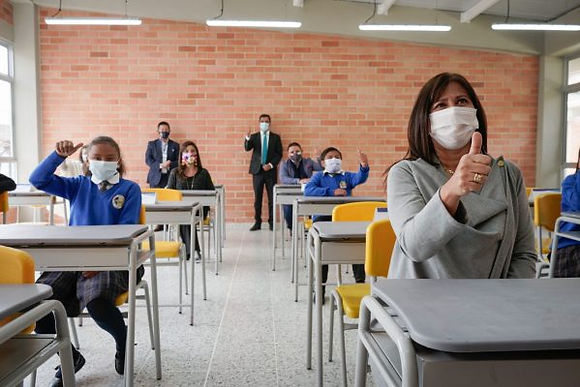 Entregaron el primer colegio Ffie de Tunja que costó más de 3 mil millones de pesos