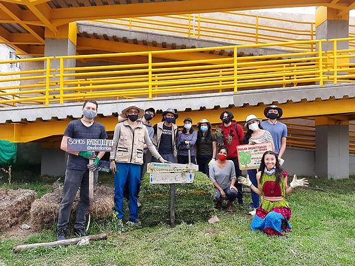 En junio, los jóvenes de Duitama se unieron por una ciudad ambientalmente sostenible