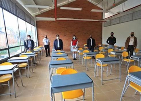 Hasta enero habrá plan de alternancia para colegios de Boyacá