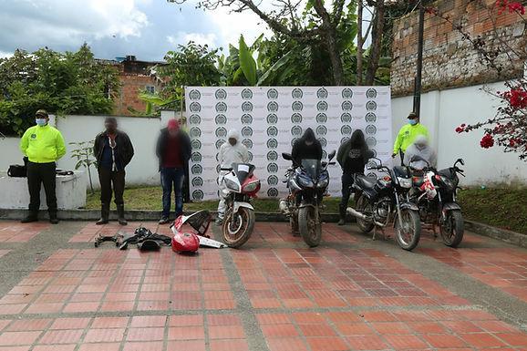 Desarticulada organización criminal 'los motorratones' en Boyacá