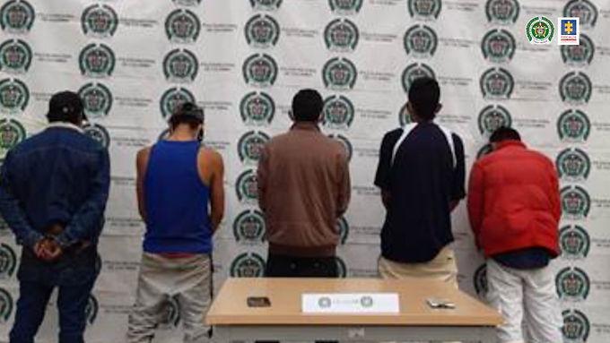 Judicializados presuntos integrantes del grupo delincuencial Los Gatos en Duitama