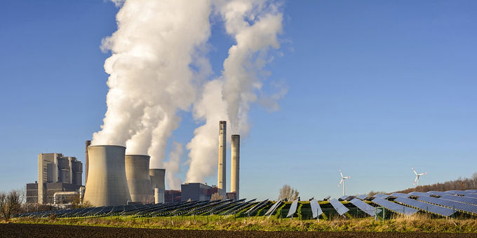 Las plantas térmicas respaldaron el 33% de la generación de electricidad