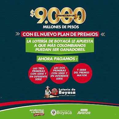 Con el nuevo plan de premios, la Lotería de Boyacá le apuesta a que más colombianos puedan ser ganadores