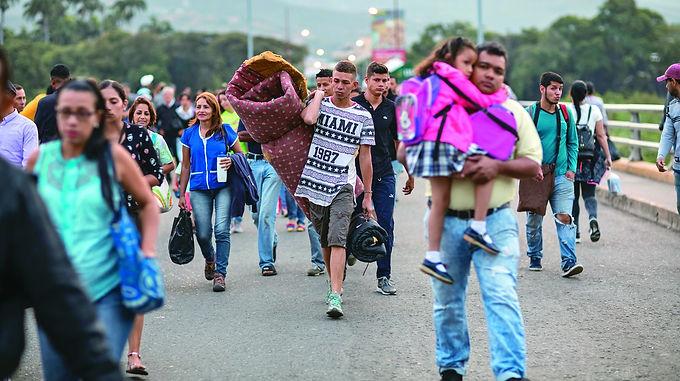 Las consultas más frecuentes de los migrantes venezolanos