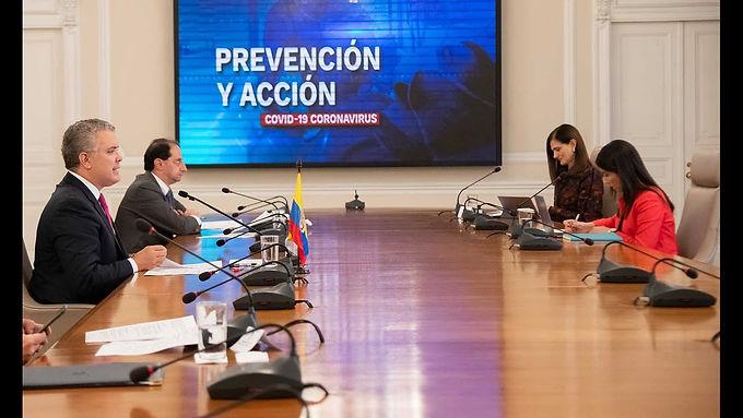 Ayer los ministros y Duque trabajaron en la agenda de reactivación económica y la vacunación