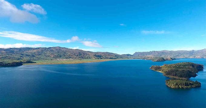 Siguen con el compromiso del deslinde del lago de Tota
