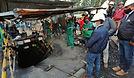 Sanos y salvos los tres mineros que permanecieron más de 60 horas bajo tierra