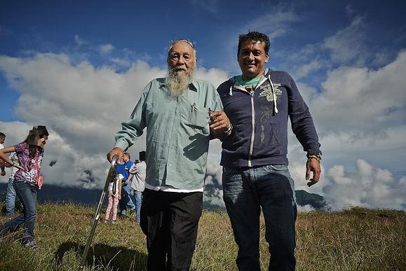 Wilson Quintero entrega tierras para proyecto de vivienda en Somondoco