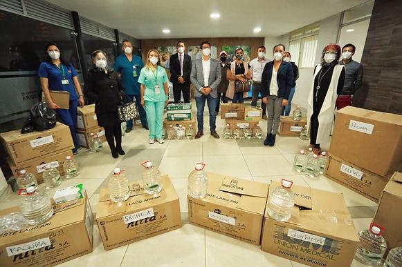 Acciones urgentes para poder atender a los contagiados por COVID
