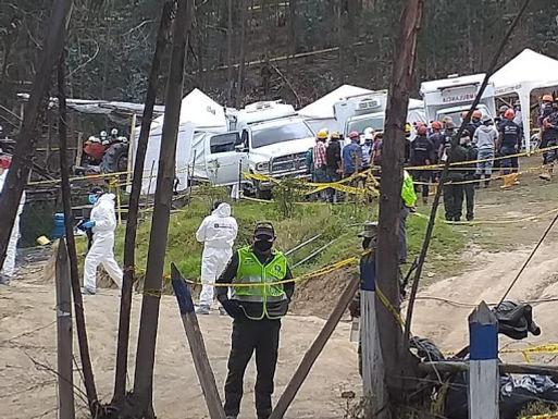 Después de ocho días hallaron los cuatro cuerpos en la mina de Sogamoso