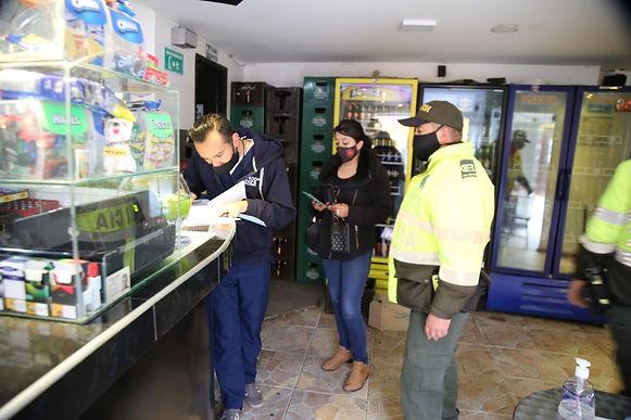 Nueve establecimientos comerciales y cuatro obras selladas por incumplir protocolos de bioseguridad