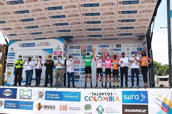 Un cundinamarqués empezó ganando en la Vuelta a la Juventud