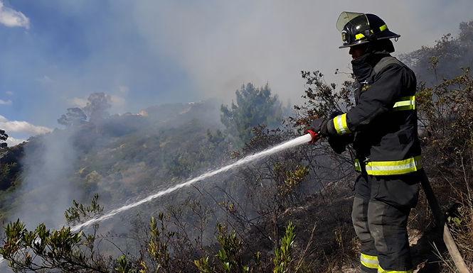 2.089 hectáreas de páramo afectadas por los incendios de este año
