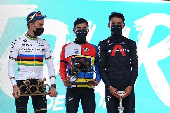 Colombia hizo el uno y tres en el pódium del Tour de la Provenza