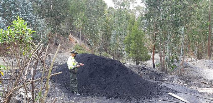 Dos capturados por minería ilegal