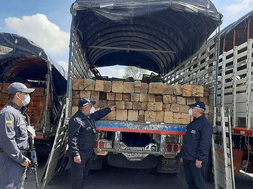 A la cárcel integrantes de red que comercializaba de madera extraída del Parque Natural Regional Serranía las Quinchas