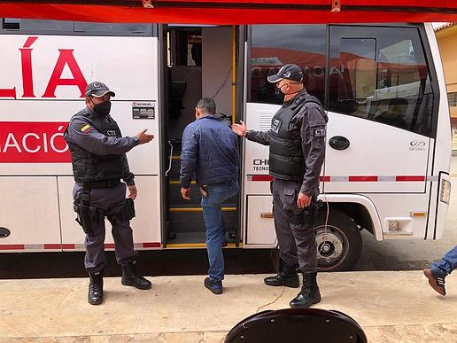 La Fiscalía Móvil llegó al municipio de Pesca en Boyacá