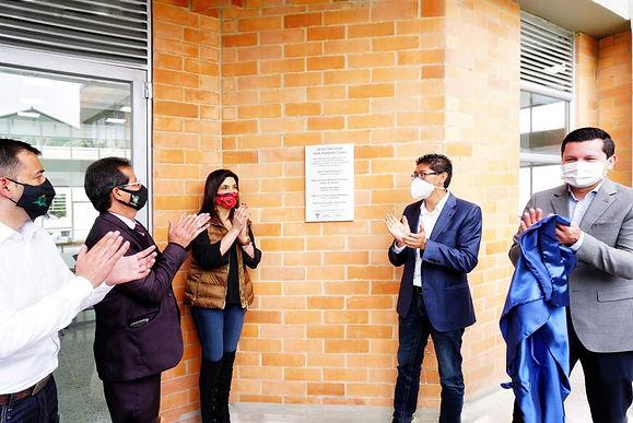 En la pandemia inauguran uno de los colegios Ffie de Boyacá
