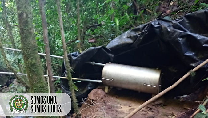 Destruyeron un laboratorio ilegal en zona rural de Campohermoso