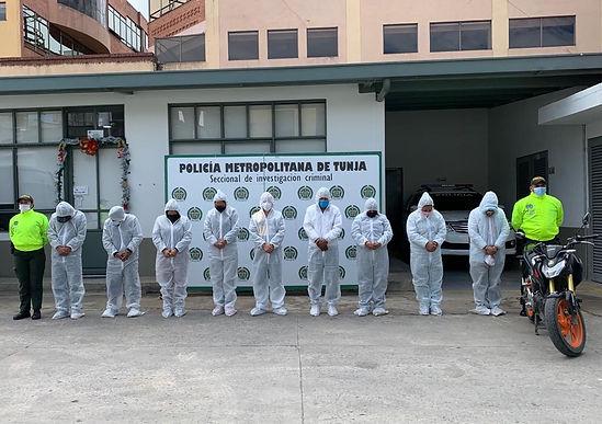 La Fiscalía judicializó a nueve integrantes del grupo de delincuencia organizada 'Los Charchajos'