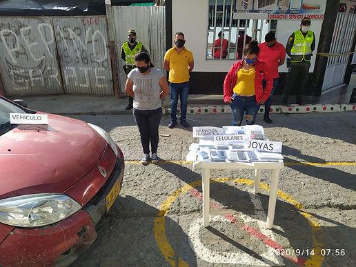Cuatro personas capturadas en Quípama