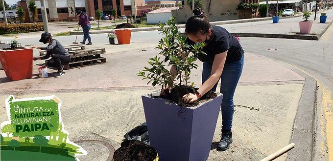 Corpoboyacá impulsa jornada de embellecimiento y recuperación de espacios en Paipa