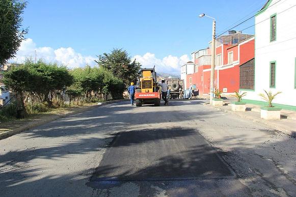 Empieza el reparcheo en Tunja, y llega con cierres viales