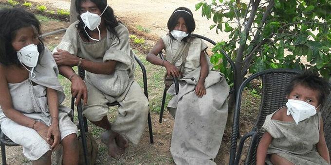 62 casos diarios nuevos de COVID en las poblaciones indígenas