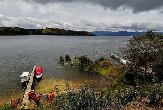 Siguen los controles ambientales en la ronda del lago de Tota