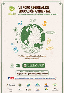 Boyacá tuvo un espacio para dialogar sobre la educación ambiental local y regional con impacto nacional