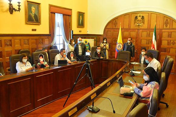 Se mantienen las medidas contra el COVID en Tunja