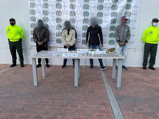 Cuatro extranjeros y un colombiano tenían en vilo la seguridad de Duitama