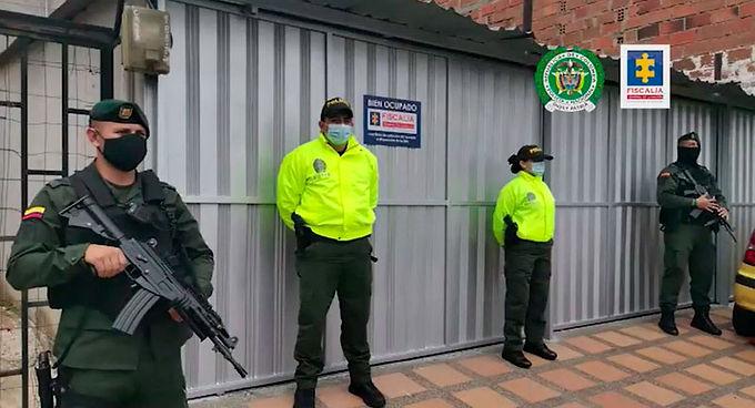 Golpe al millonario patrimonio ilícito de la estructura criminal 'El Mesa', responsable de homicidios, desplazamientos y otros delitos