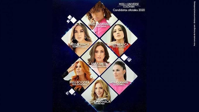 Estas son las candidatas de Miss Universe Colombia que suenan fuerte
