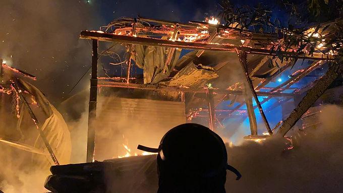 Un incendio consumió tres viviendas en Muzo