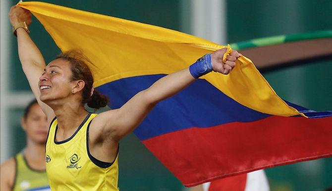 Atletas colombianos compitieron en Túnez esta semana