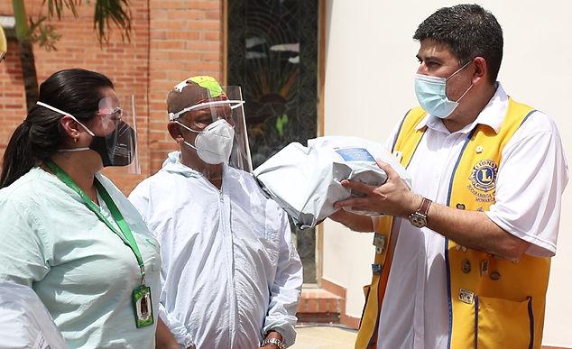 'Los leones' apoyaron al Hospital Regional de Duitama con kits para los médicos