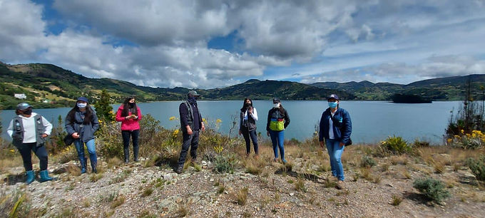Comenzó primera fase para declaratoria de áreas protegidas en tres islas de la cuenca del lago de Tota