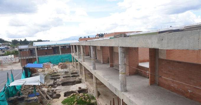 Colegios de Sogamoso avanzan en su construcción