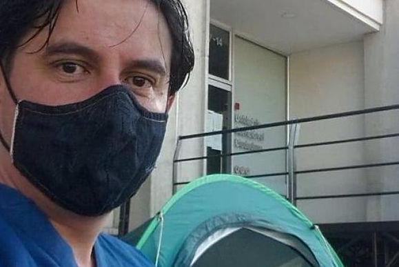 Otro médico quiere seguir los pasos de Juan Pablo Ovalle