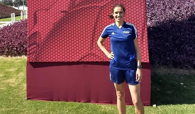 Mary Blanco ya está lista para los olímpicos
