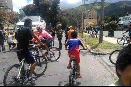 Vuelve la ciclovía a Tunja