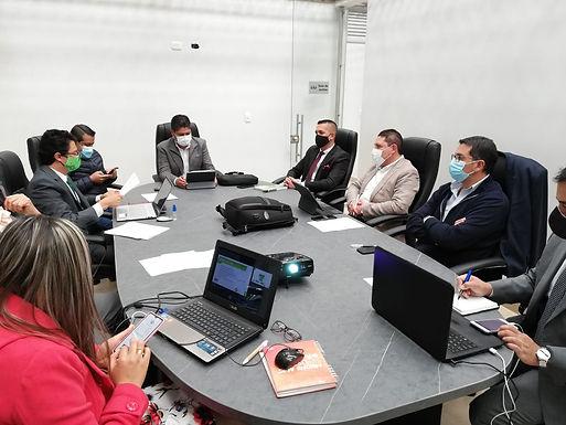 Reunión de accionistas de la Terminal de Tunja